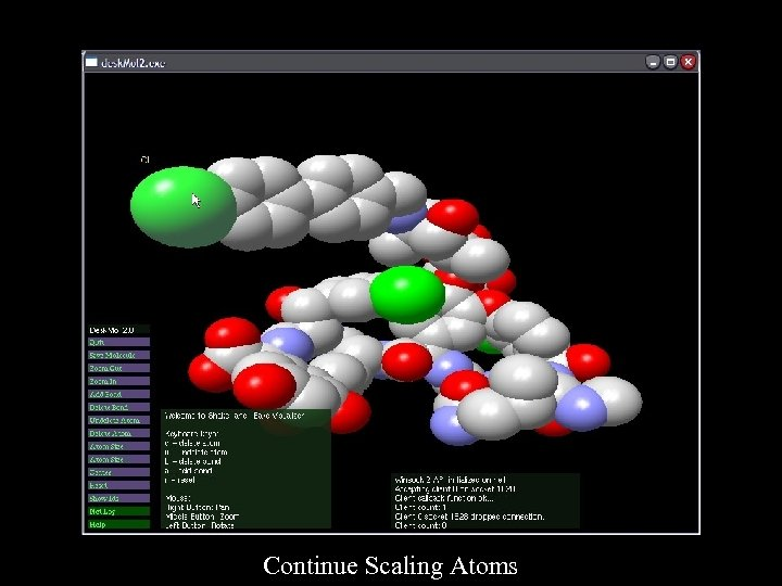 Continue Scaling Atoms