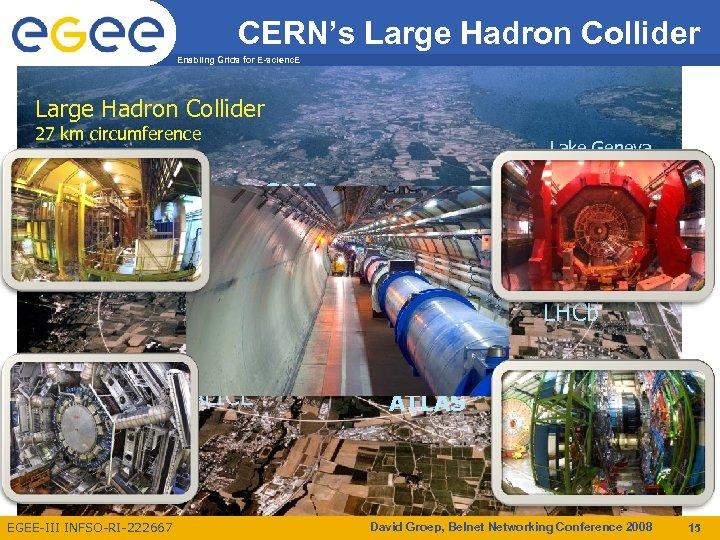 CERN's Large Hadron Collider Enabling Grids for E-scienc. E Large Hadron Collider 27 km