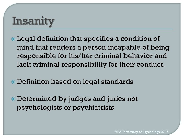 Forensic Applications of Neuropsychology in Capital Cases