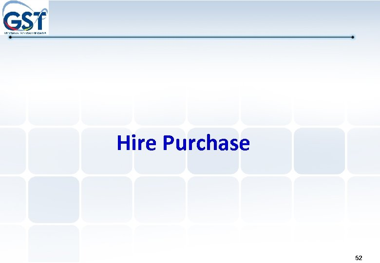 Hire Purchase 52
