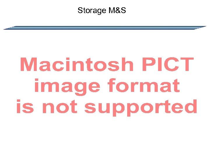 Storage M&S
