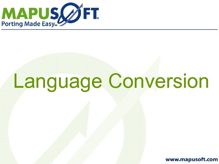 Language Conversion