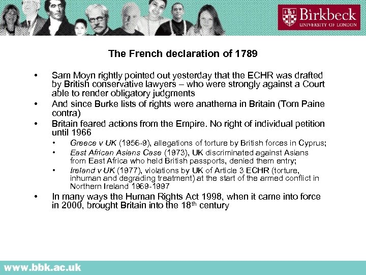 The French declaration of 1789 • • • Sam Moyn rightly pointed out yesterday