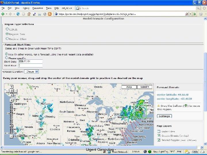 3 University of Chicago Urgent Computing - 31 Argonne National Lab