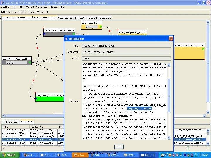 8 University of Chicago Urgent Computing - 36 Argonne National Lab