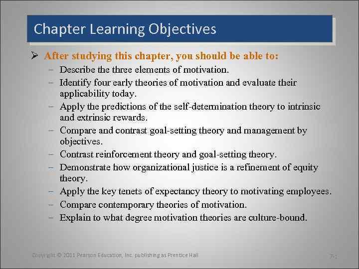 Chapter Robbins Judge Organizational Behavior 7 14