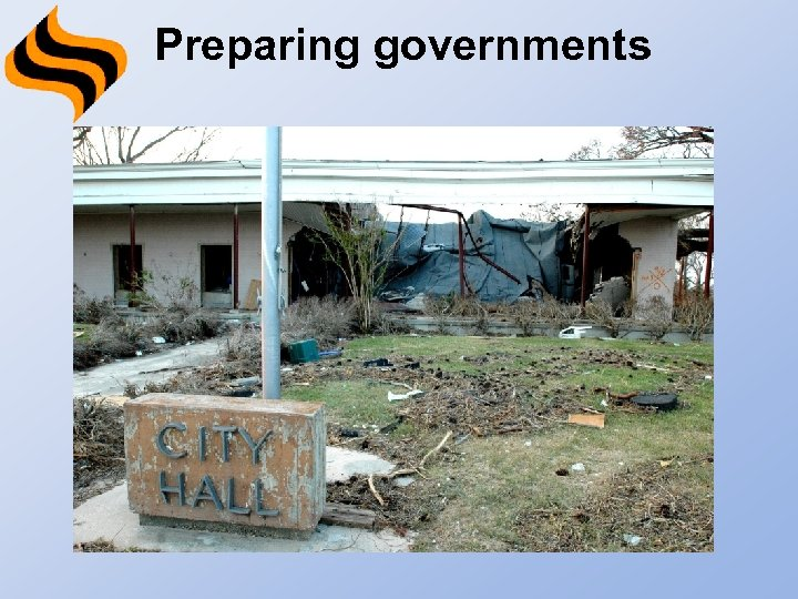 Preparing governments