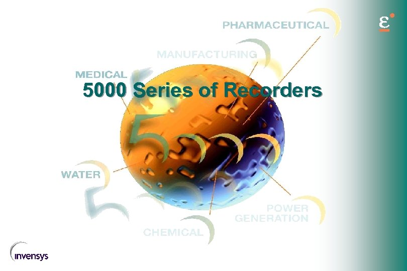 5000 Series of Recorders
