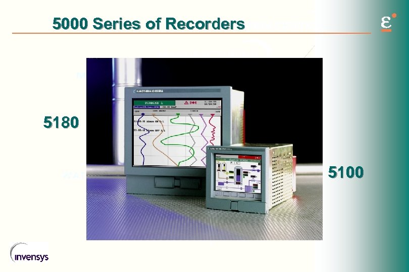 5000 Series of Recorders 5180 5100