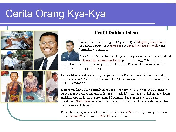 Cerita Orang Kya-Kya
