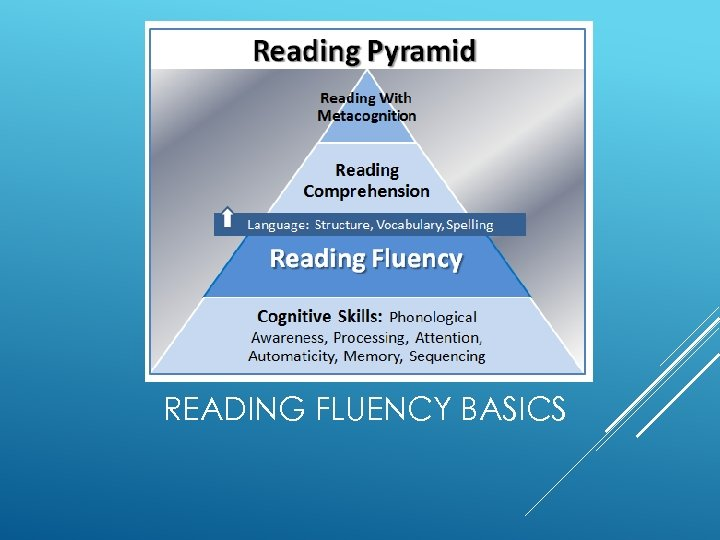 READING FLUENCY BASICS