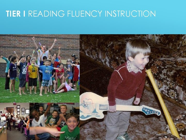 TIER I READING FLUENCY INSTRUCTION