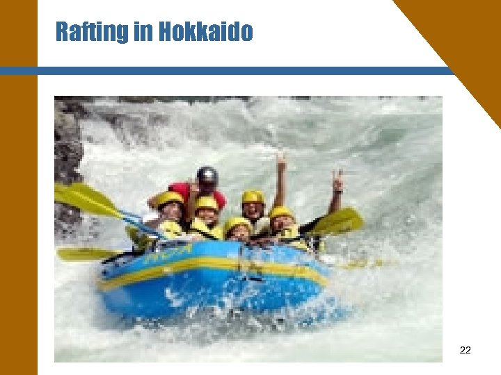 Rafting in Hokkaido 22