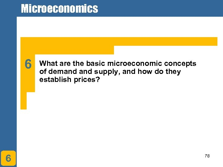 Microeconomics 6 6 What are the basic microeconomic concepts of demand supply, and how