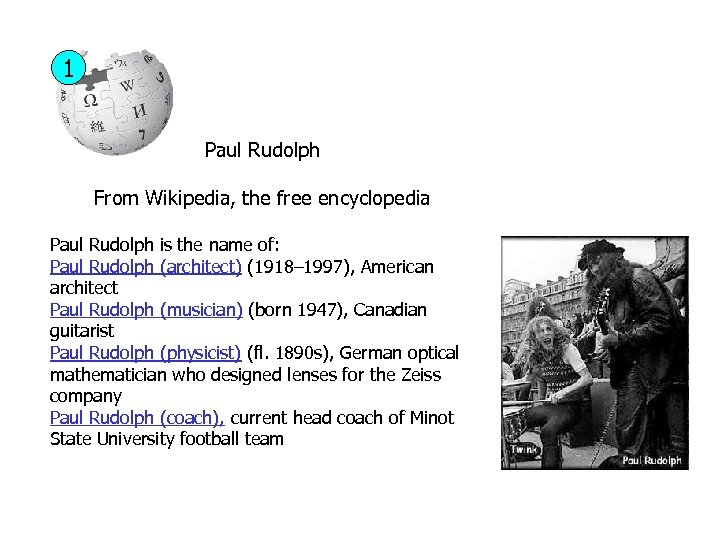 1 Paul Rudolph From Wikipedia, the free encyclopedia Paul Rudolph is the name of:
