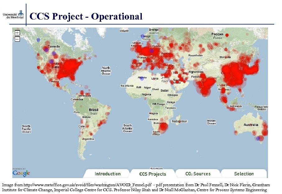 CCS Project - Operational Image from http: //www. metoffice. gov. uk/avoid/files/washington/AVOID_Fennel. pdf - pdf