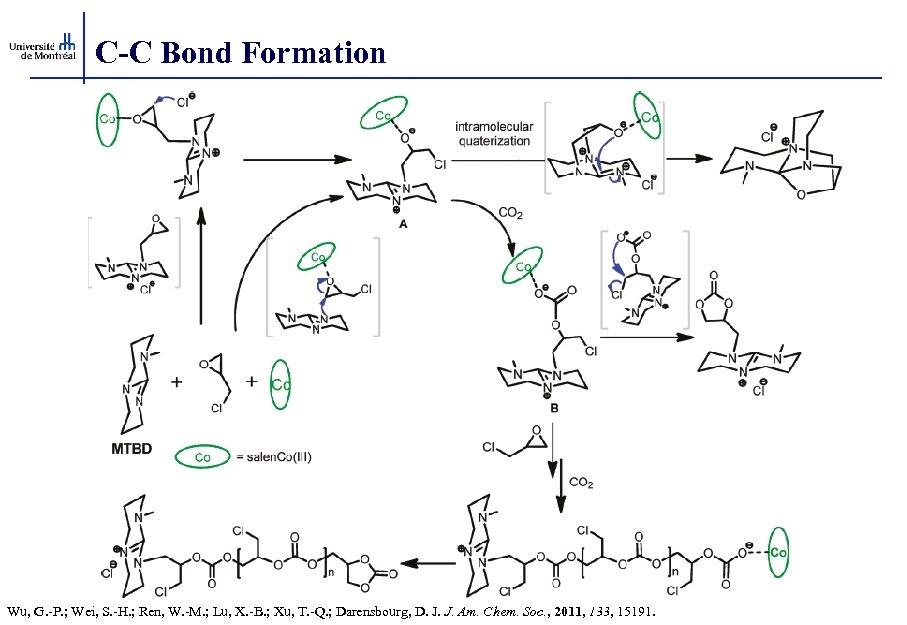 C-C Bond Formation Wu, G. -P. ; Wei, S. -H. ; Ren, W. -M.