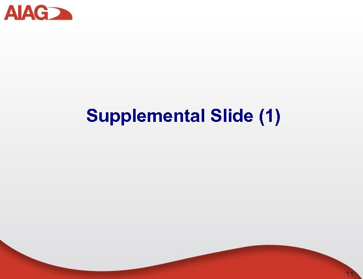 Supplemental Slide (1) 11