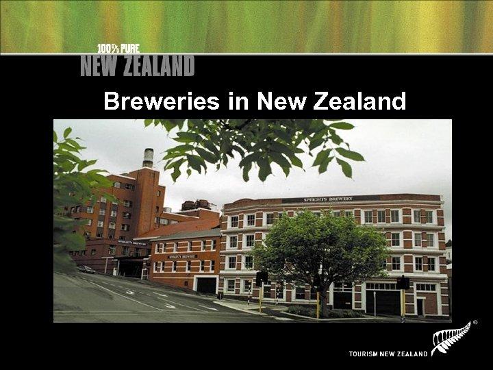 Breweries in New Zealand