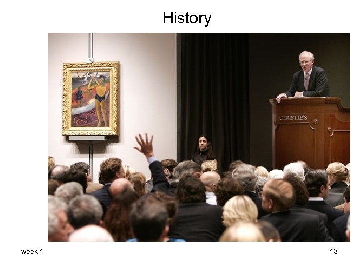 History week 1 13