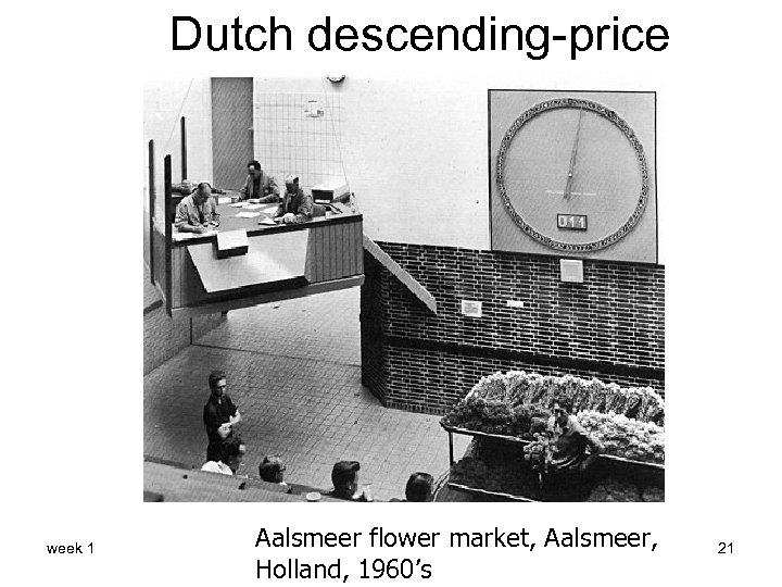 Dutch descending-price week 1 Aalsmeer flower market, Aalsmeer, Holland, 1960's 21