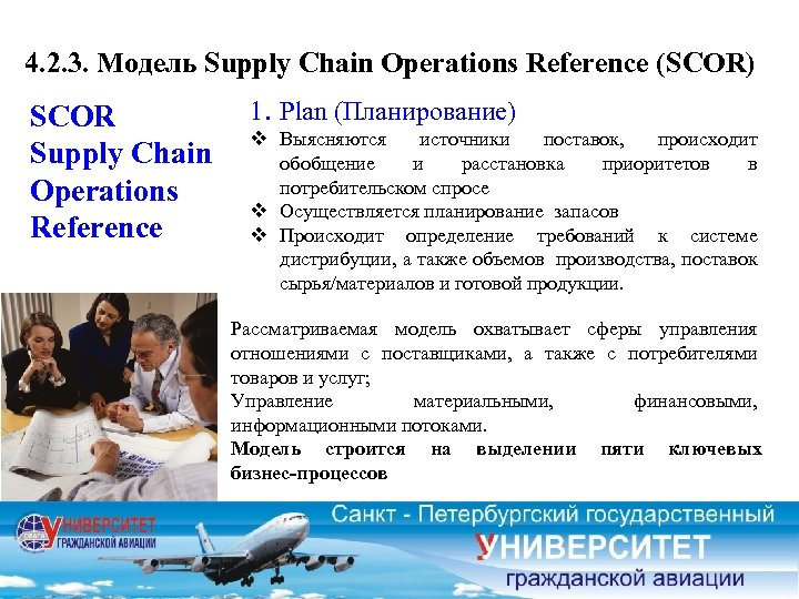 4. 2. 3. Модель Supply Chain Operations Reference (SCOR) SCOR Supply Chain Operations Reference