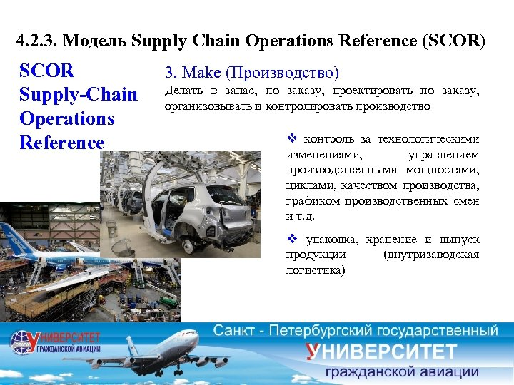 4. 2. 3. Модель Supply Chain Operations Reference (SCOR) SCOR Supply-Chain Operations Reference 3.