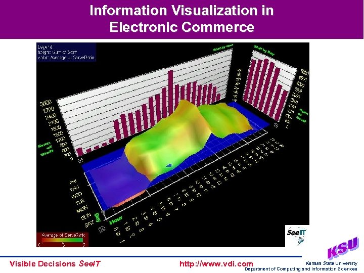 Information Visualization in Electronic Commerce Visible Decisions See. IT http: //www. vdi. com Kansas
