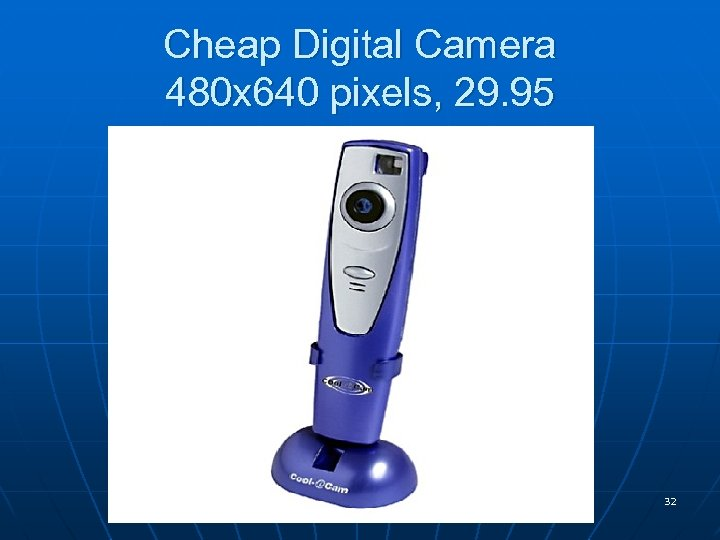 Cheap Digital Camera 480 x 640 pixels, 29. 95 32