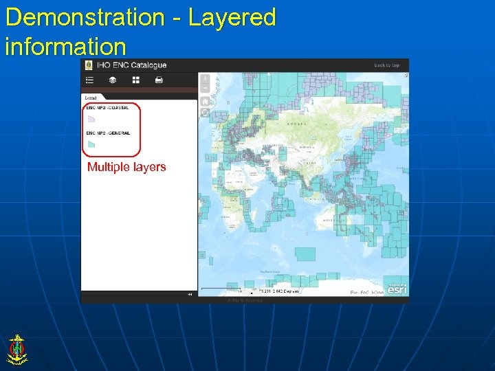 Demonstration - Layered information Multiple layers