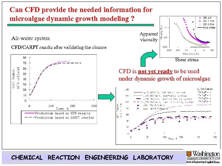 Can CFD provide the needed information for microalgae dynamic growth modeling ? Air-water system