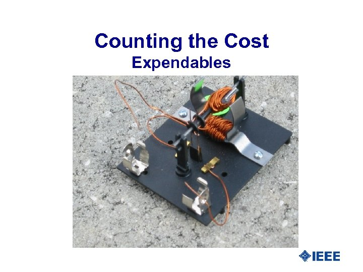 Counting the Cost Expendables