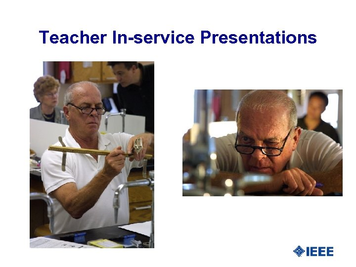 Teacher In-service Presentations