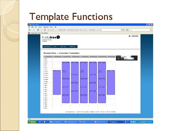 Template Functions