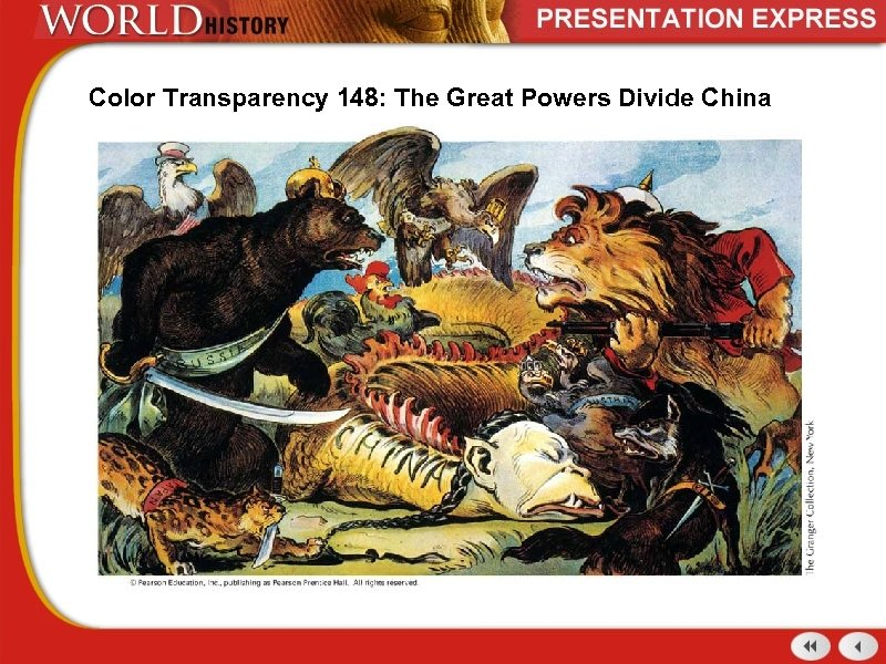 Color Transparency 148: The Great Powers Divide China