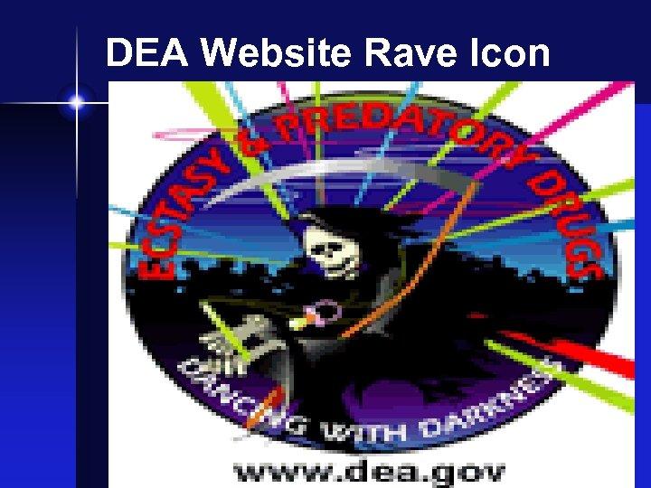 DEA Website Rave Icon