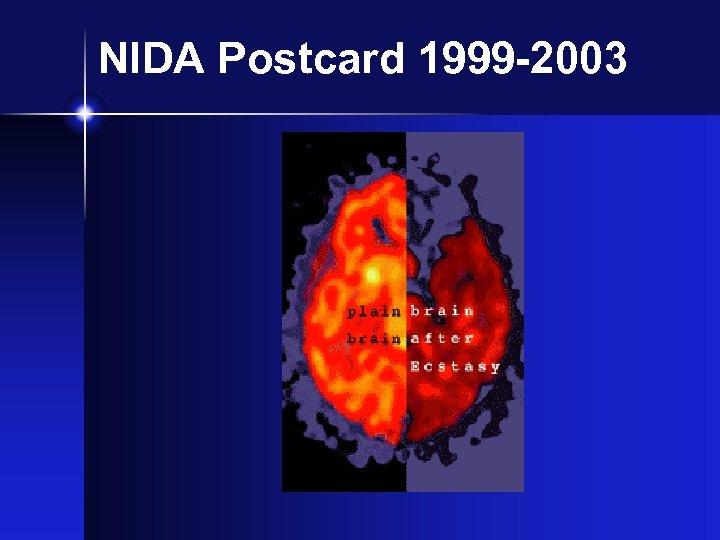 NIDA Postcard 1999 -2003