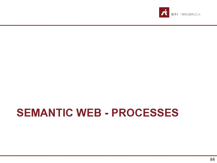 SEMANTIC WEB - PROCESSES 88
