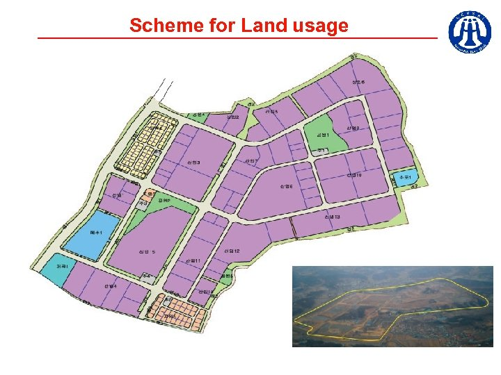 Scheme for Land usage