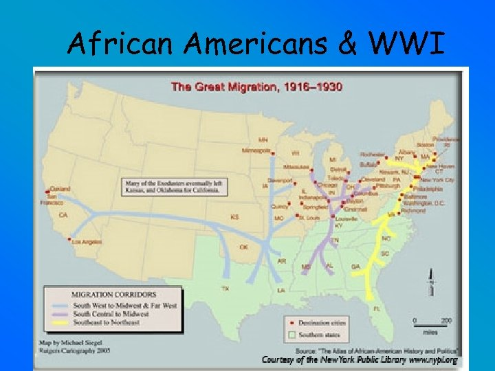 African Americans & WWI