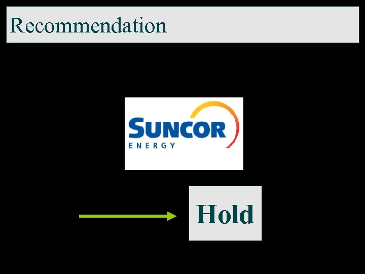 Recommendation Hold