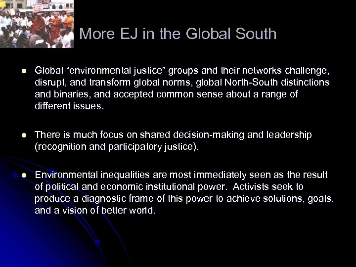"More EJ in the Global South l Global ""environmental justice"" groups and their networks"