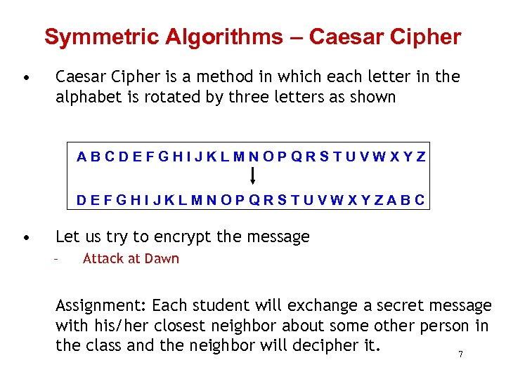 Computer Security Secure Communication Cryptography Mort