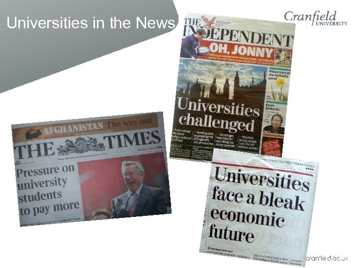 Universities in the News