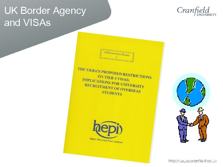 UK Border Agency and VISAs
