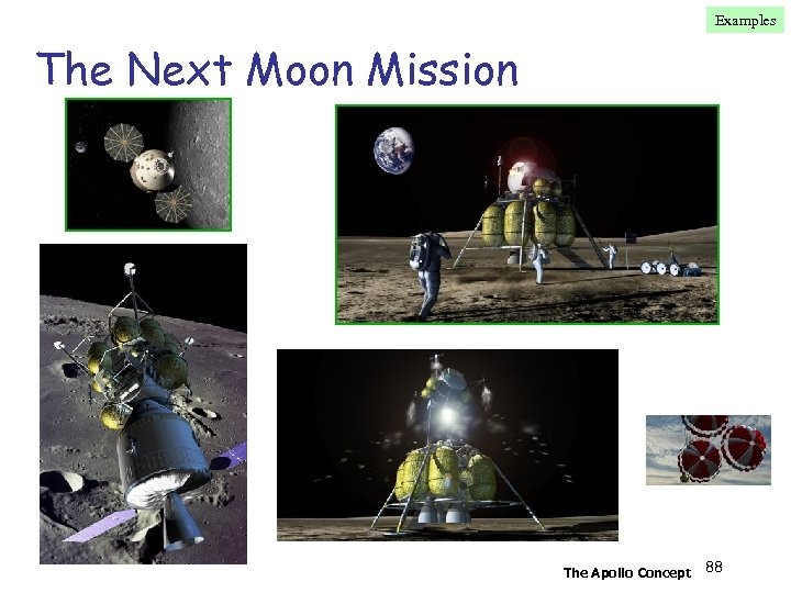 Examples The Next Moon Mission The Apollo Concept 88