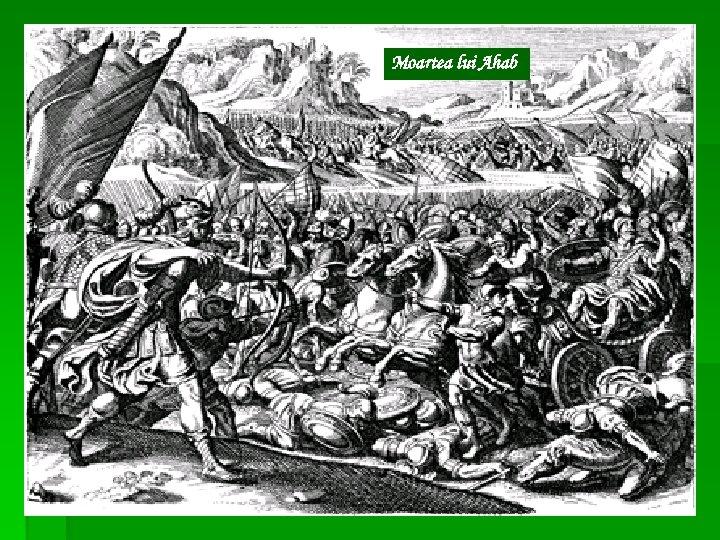 Moartea lui Ahab