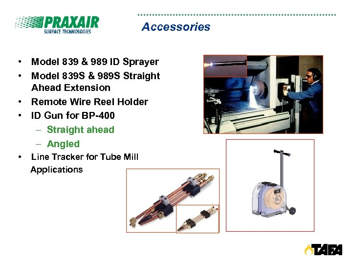 Accessories • Model 839 & 989 ID Sprayer • Model 839 S & 989