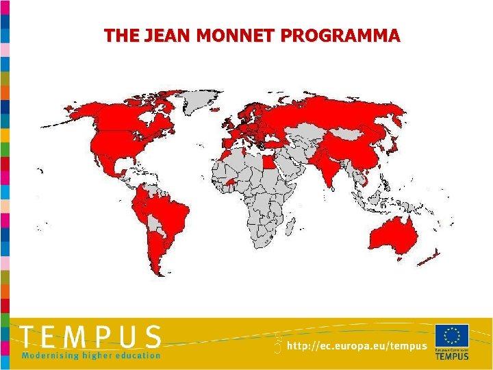 THE JEAN MONNET PROGRAMMA