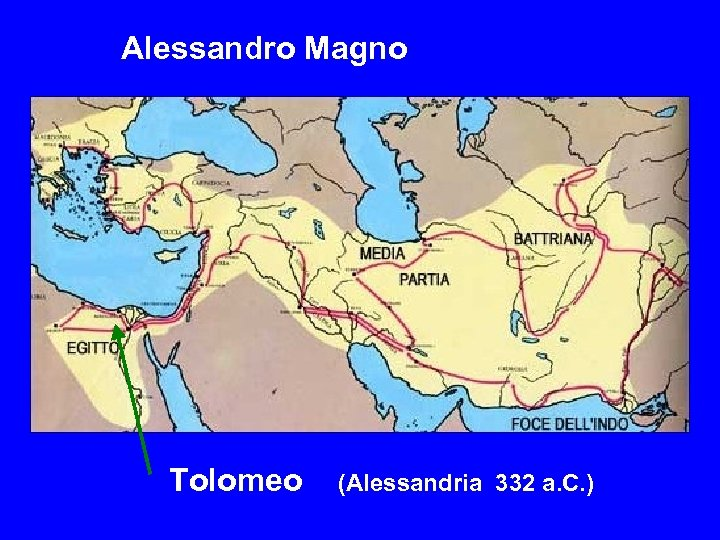 Alessandro Magno Tolomeo (Alessandria 332 a. C. )